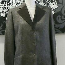 Nwt  775 Armani Collectioni Wool Blends Sz 8 Women's Jacket Blazer Photo
