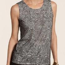 Nwt 79 Chico's Lace Overlay Layla Tank Cocoa Bean Size 3 L/xl Photo