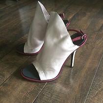 Nwt 795 Balenciaga Glove Boots Sandals Grey Coloropen Toe Size 40 Euro/ 9 Us Photo