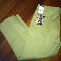 Nwt 874 Dickies 42 X 30 Khaki Mens Work Pants Original Straight Leg Pants Photo