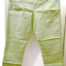 Nwt 90 Madewell by J.crew Campstitch Slouch Fatigue 27 Women Pants Fit 31-32 Photo