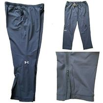 Nwt 90 Under Armour Storm Men's Woven Athletic Pants Ankle Zip Gray Size Xxl Photo