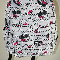 Nwt 96 Hello Kitty Backpack Watch Set Photo