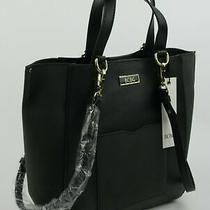 Nwt 98 Bcbg Womens Carla Satchel Bcf19243 Shoulder Bag Tote in Black Photo