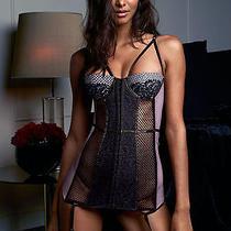 Nwt 98 Victoria's Secret Very Sexy Scandalous Garter Slip Fresh Lilac 36c Photo