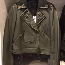 Nwt 995 on Sale 380 Coach Leather Jacket Size Small Original Tag 995 Photo