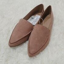 Nwt a New Day Women's Micah Genuine Suede Flats Blush Pink Size 11  Photo