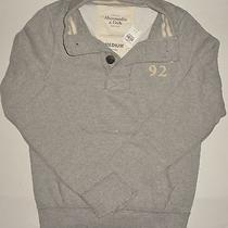 Nwt Abercrombie & Fitch Cold River Mens Sweatshirt Size M  Photo