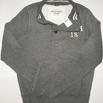 Nwt Abercrombie & Fitch Cold River Mens Sweatshirt Size Small  Photo