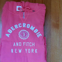 Nwt Abercrombie & Fitch Melanie Shine  Hoodie Large Coral Hollister Photo