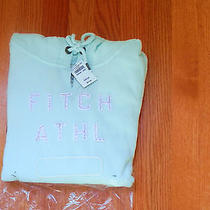 Nwt Abercrombie & Fitch Melanie Shine  Hoodie Large Turquoise Hollister Photo
