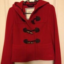 Nwt Abercrombie &fitch Women Wood Outwear Red Photo