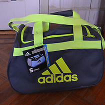 Nwt Adidas Diablo Small Duffel Limited Edition Rare Unique Gray Neon Gym Photo