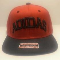 Nwt Adidas Fakt Snapback Cap Hat Red & Black Size Adjustable Photo