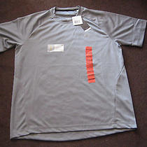 Nwt Adidas Men Clima Lite Ess F Grey Tee Perfmance Shirt. M32761 Photo
