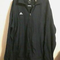Nwt Adidas Men's Jacket Scorch Climawarm Navy Blue Full Zip Long Sleeve Size Xl Photo