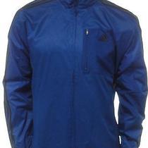 Nwt Adidas New Blue Full Zip Track Jacket Drive 2 Sweatshirt L 60 Photo