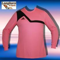 Nwt Adidas Soccer Climalite Bilvo 13 Goalkeeper Jersey Medium Football Pink Photo