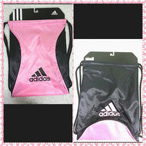 Nwt Adidas Women/girl Bolt Block Reversible Drawstring Gym Sackpack Backpack Photo