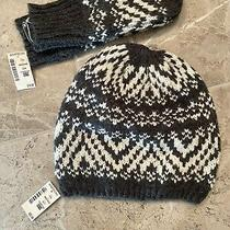 Nwt Adult Aeropostale Hat and Glove Set Retails for 42 Free Shipping Photo