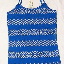 Nwt Aeropostale Awesome Blue Embellished Glitter Tank  Top Sz 10 New Photo