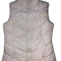 Nwt Aeropostale Xs Womens/girls Puffer Vest Cream/ivory Photo