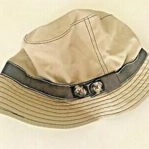 Nwt Albertus Swanepoel for Gap Beige Tan Natural Cotton Bucket Hat Womens M / L  Photo