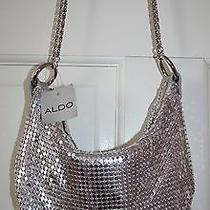 Nwt Aldo Metallic Silver Purse Photo