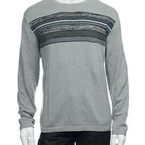 Nwt Alfani Light Gray Heather Crew Neck Sweater 2xl Photo