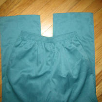 Nwt Alfred Dunner Wisteria Lane Aqua Pants Sz 8p 42nr Fab Photo