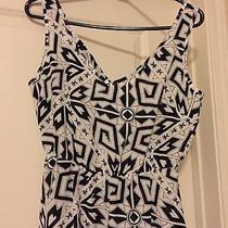 Nwt- Amanda Uprichard- Black and White Dress- Small Photo