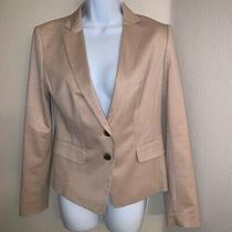 Nwt Ann Taylor Fitted Tan Khaki Career Blazer Women's Size 6  Photo