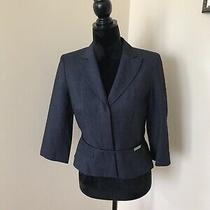 Nwt Ann Taylor Loft Size 4 Woman Jacket Blazer 3/4 Sleeve Photo