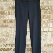 Nwt Ann Taylor the Trouser Blue Pants Size 2 Photo