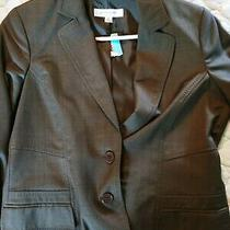 Nwt Anne Klein Platinum Collection Fall Blazer Size 8 (Runs Small) Gorgeous Photo