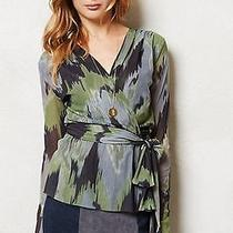 Nwt Anthropolgoie Liana Top From Sweet Pea by Stacy Frati Blouse Size Xs Photo