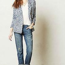 Nwt Anthropologie by Cartonnier Limpopo Blazer Sz S Slimming Trendy  Photo