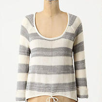 Nwt Anthropologie Dolce Vita Scuffed Stripes Pullover Sweater Sz Xs Photo