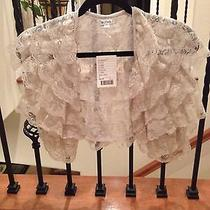 Nwt Anthropologie Lace Vest Photo