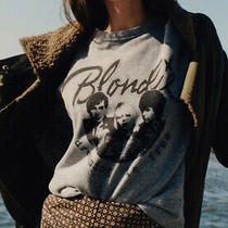 Nwt Anthropologie Letluv Blondie Graphic Sweatshirt Size Xs Photo