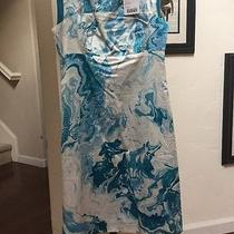 Nwt Anthropologie Marbled Waters Shift Dress by Maeve Size  Photo