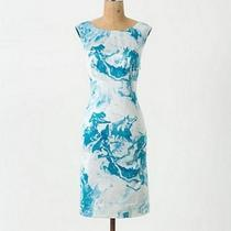 Nwt Anthropologie Marbled Waters Shift Dress by Maeve Sz 2 158 Photo