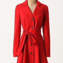 Nwt Anthropologie Pansy Corset Trench Size 0 Very Rare   Photo