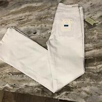 Nwt Anthropologie Pilcro and the Letterpress White High Rise Flare Jean Size 26 Photo