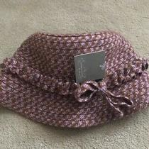 Nwt Anthropologie Tweed Herringbone Winter Bucket Hat Photo
