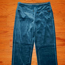 Nwt Aqua Velour Calvin Klein Performance Casual Pants Women Size S - Sweat Pants Photo