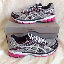 Nwt  Asics Gt-1000 Women's Running Shoe Silver / White / Hot Pink T2l6n 9.5us Photo