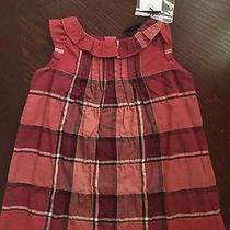 Nwt Authentic Burberry Baby Girl Very Nice Dress Size 6m Photo