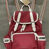Nwt Authentic Burberry Crossbody Rucksack Nylon Medium Check Luxury Backpack Lux Photo