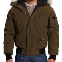 Nwt Authentic Canada Goose Men's Brown Chilliwack Bomber Jacket - Size Xs Photo